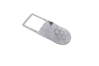 Felt Slippers Shapes Switch Sticker Storage Pocket